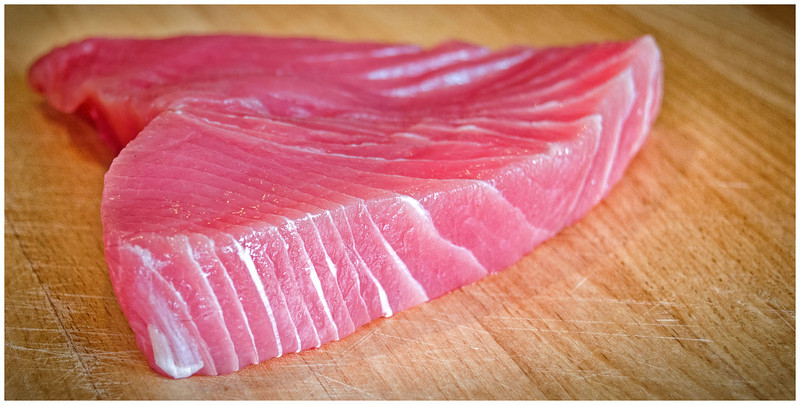Tuna Sashimi - Hobart, Tasmania