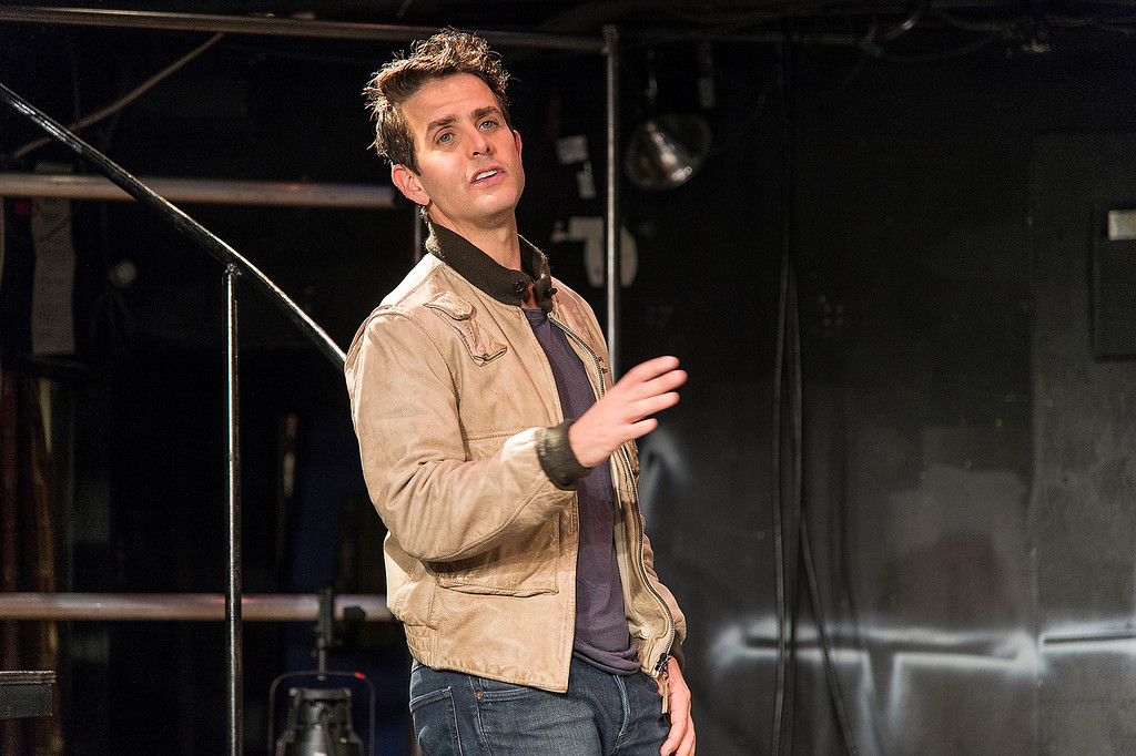 ". Joey McIntyre\'s one-man show ""The Kid\"" covers live growing up in Boston as well as his time in the boy-band \""New Kids on the Block.\"" Photo Terry Shapiro, Provided by Denver Center Attractions"