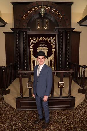 Shalom Tzvi Cohen Bar Mitzvah Portraits-May 24, 2019