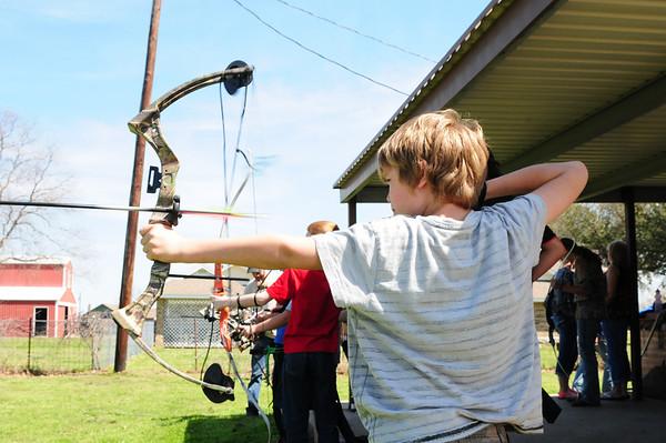 Archery practice 033014