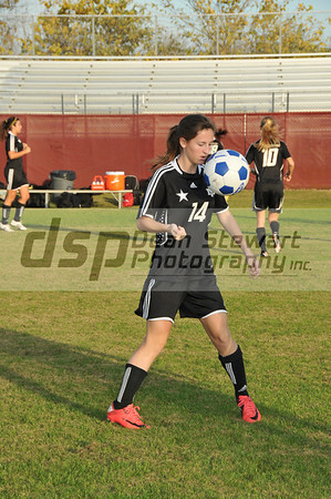 Merritt Island Girls Soccer vs Astronaut 1-12-12