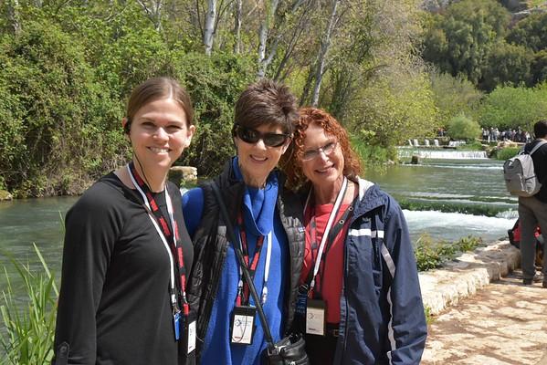 Day 3: Tel Dan, Caesarea Philippi, Golan Heights