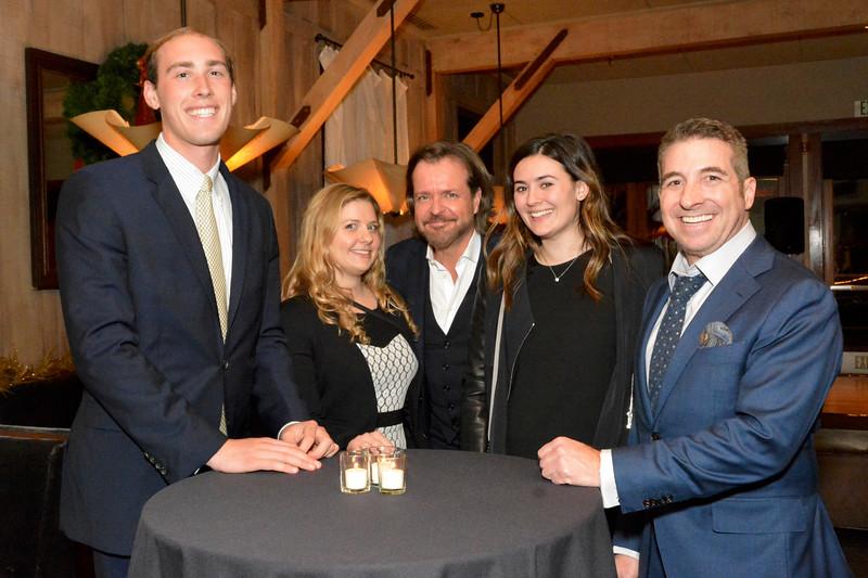 Ben Armellini, Stephanie Hawk, James Demmert, Natalie McMahon and Aaron Stern