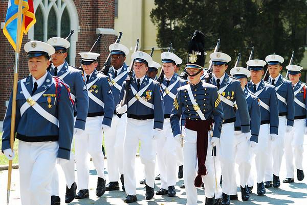 Military Ball Parade - 04/26/2009