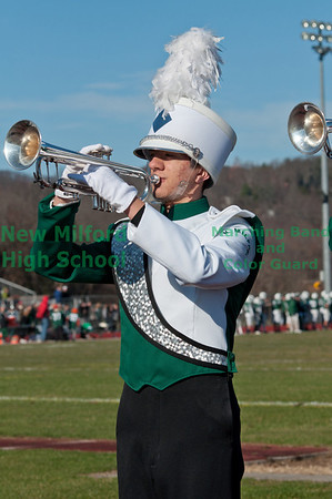 NMHS Band at Thanksgiving Game, November 24, 2011