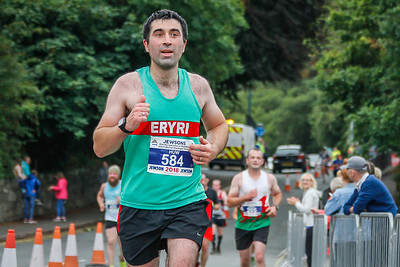 Snowdon Race - Last Corner at 9.3 Miles