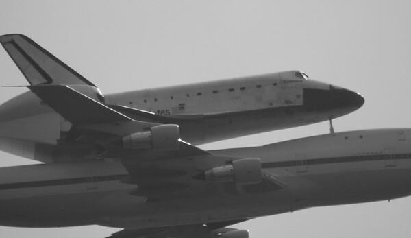 Last Shuttle Flyover - Endeavour