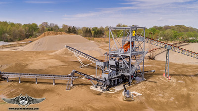 Aggresand 206 Wash Plant at Central-Allied
