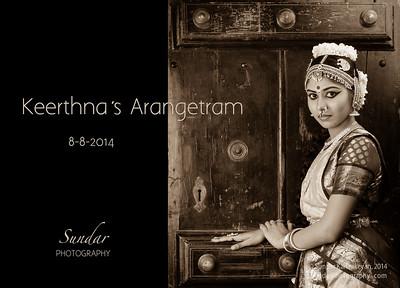 Keerthna and Iswarya's Arangetram
