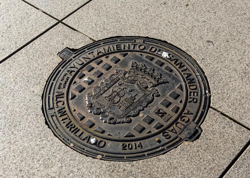 Manhole Cover, Santander