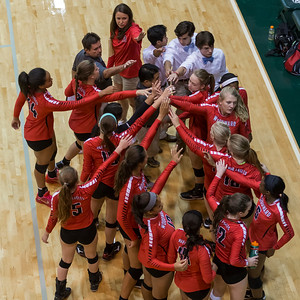 Woodward and Johns Creek Volleyball August 27, 2015