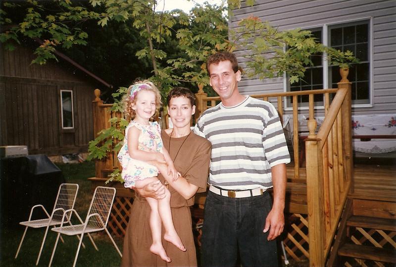 Maddie, Jane, Greg     7/91