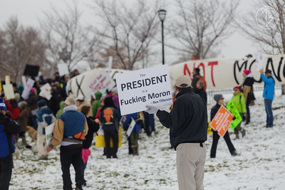 2017-12-4 Downsizing Monument Protest