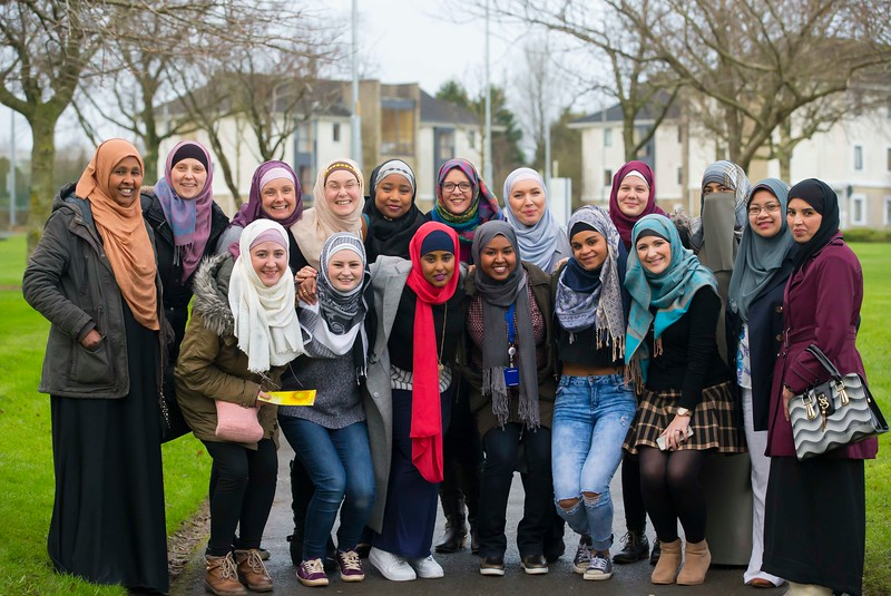 01/02/2017.  World Hijab Day 2017 at Waterford Institute of Technology. Picture at Waterford Institute of Technology (WIT) who hosted an event for World Hijab Day 2017 at WIT's main campus, Cork Road, Waterford City. Picture: Patrick Browne