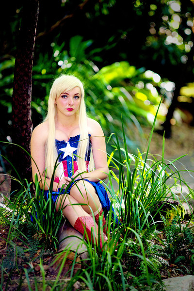 Captain America Girl Lachlan David Jackson Schmidt