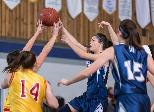 Sr. Girls Basketball Tourn. - Saturday - Strobed
