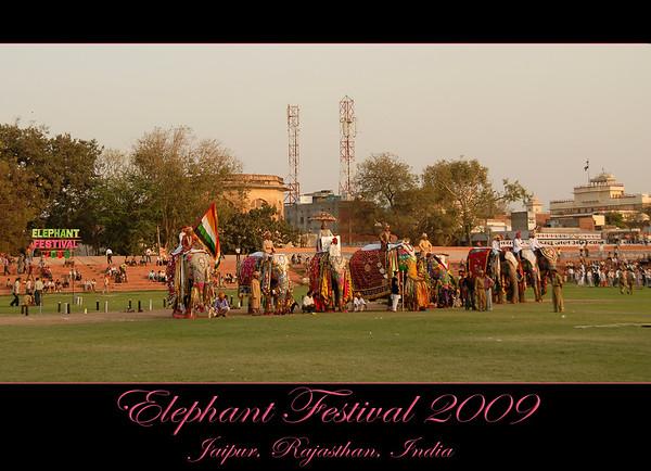 Elephant Festival 2009, Jaipur Mar 2009