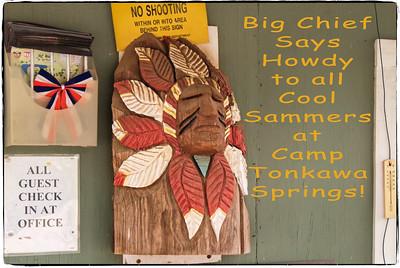April 2016 at Camp Tonkawa Springs