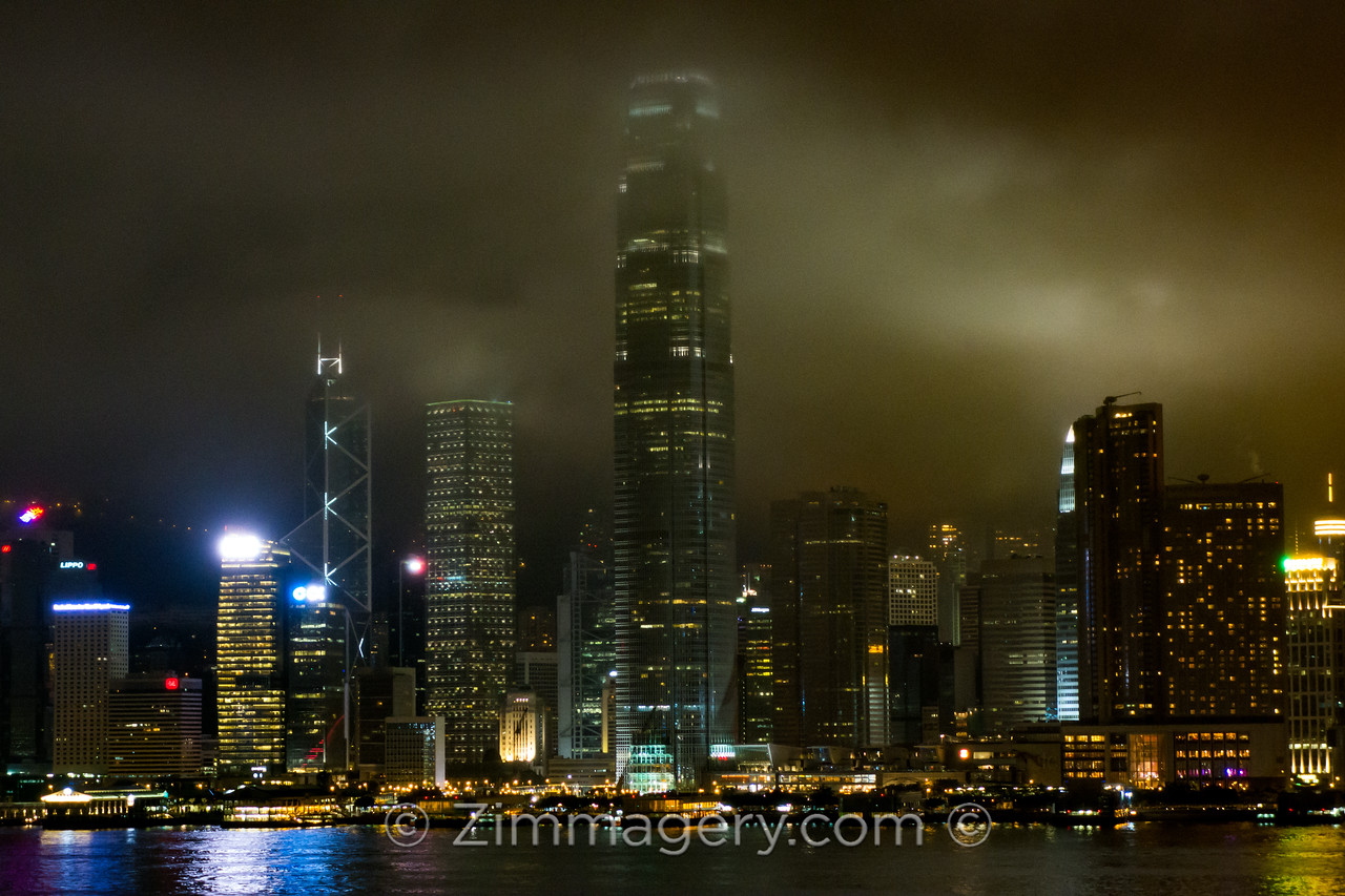 Skyline from Kowloon, Hong Kong