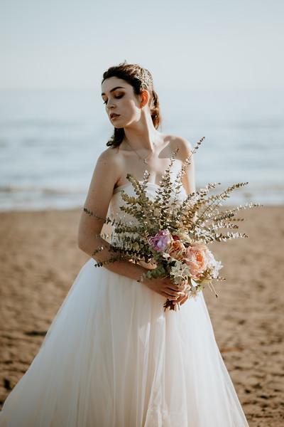 Bridal Beach Sytled Shoot