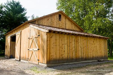 Chippewa Nature Center Barn