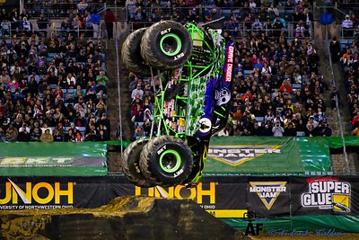 2020 Jacksonville Monster Jam  -Racing & Two Wheeled  Contest