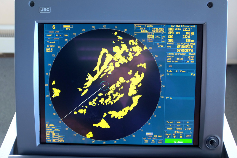 One of two independent Radar Displays.