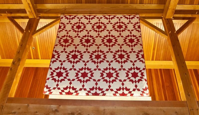 Quilt Exhibit At Billings Farm and Muesum