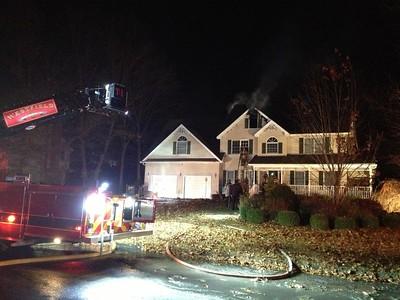 Structure Fire - Unknown Address, Westfield, MA - 11/15/14