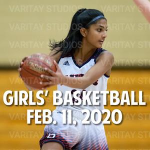 Prairie Girls Basketball, Feb. 11, 2020