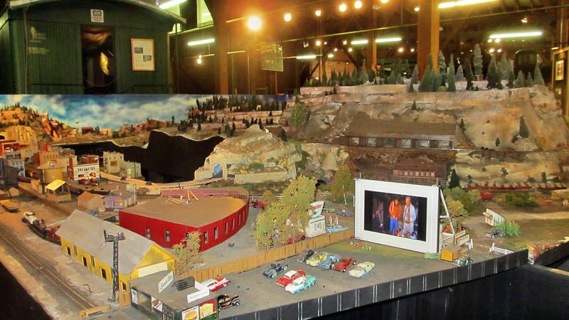 Durango, Colorado, scenes and DoubleTree Durango Hotel Scenes - Museum: note the Drive-In Theater