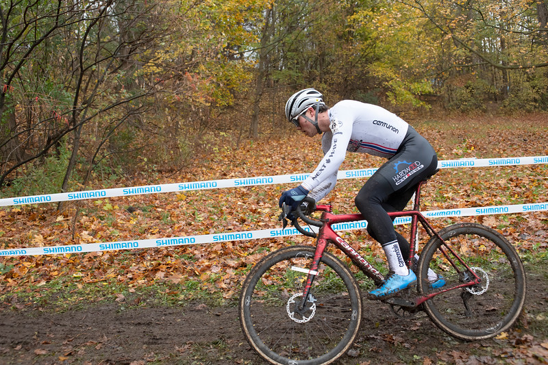 Gunnar Holmgren (ON) Hardwood Next Wave on the way to Canadian Champion in U23 Men