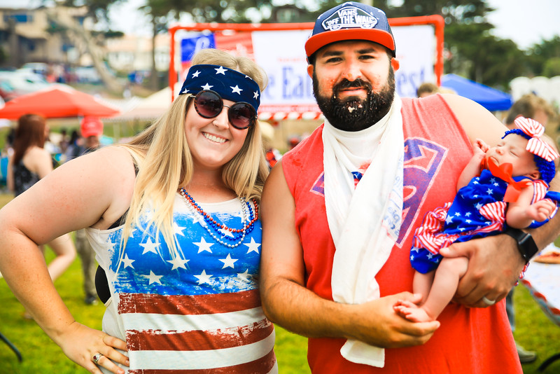 2016 July 4th Festivites at Shamel Park in Cambria