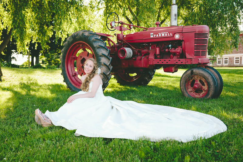 Deana and the Tractor