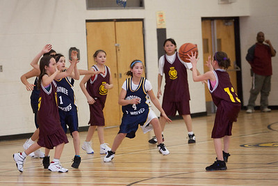 Girls Basketball 2009 January 21 Bishop Belleau v. Moosonee Public