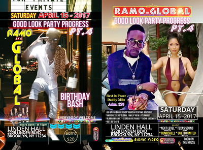 """GLOBAL'S BIRTHDAY PARTY """"GOOD LOOK PARTY PROGRESS PT. 4""""(15)"""