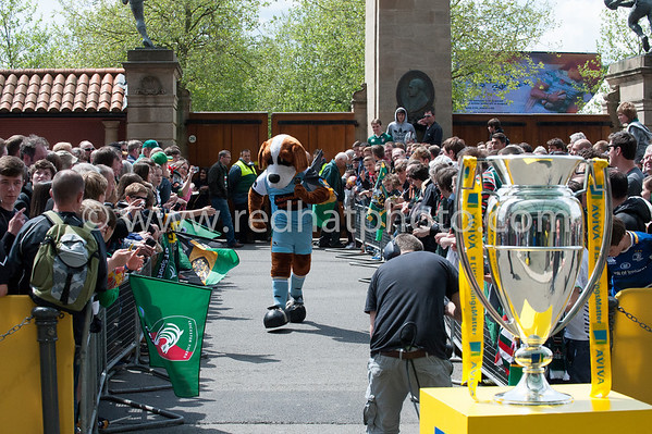 Leicester Tigers vs Northampton Saints, Aviva Premiership Final, Twickenham Stadium, 25 May 2013