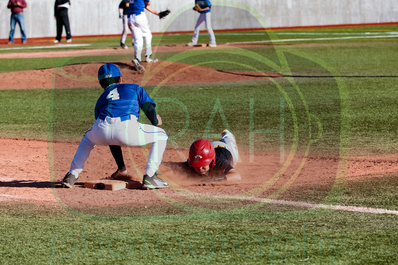 Gallup Mid vs JFK A Team Baseball 3-29-17