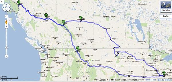 Alaska Bike Trip 2011