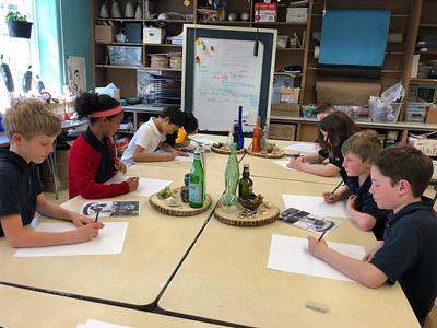 4th Grade - Still Life Drawings