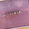 .78-.82ctw Asscher Stud Earrings, in Yellow Gold 20
