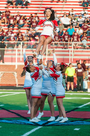 September 22, 2016 - Football - Mission vs La Joya - Band Cheer Dance_LG