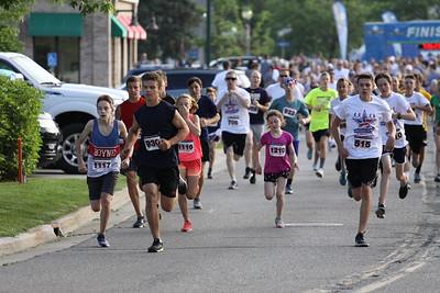 2 Mile Start - 2019 Boyne City Independence Day Run