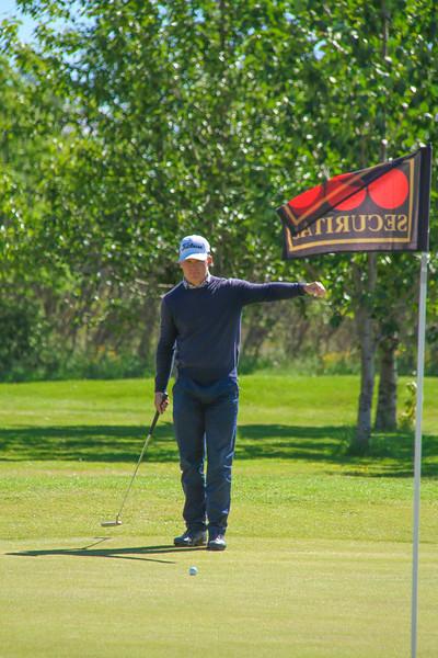 Björn Óskar Guðjónsson, GM.  Mynd/seth@golf.is