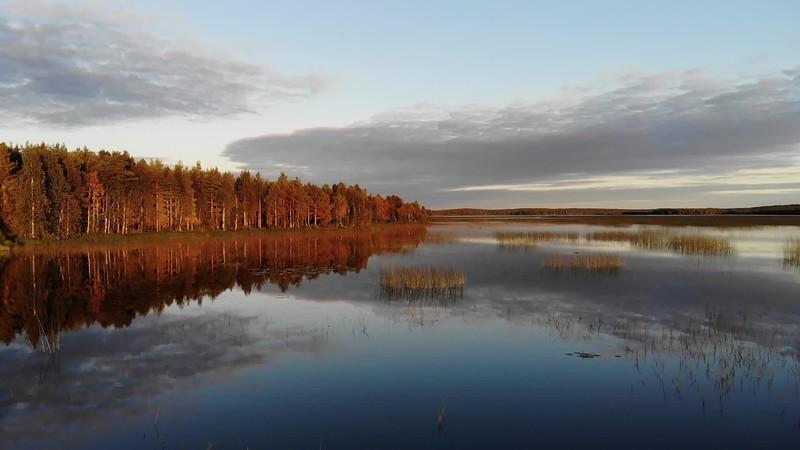 Mirror Lake | Drone B-roll stock footage