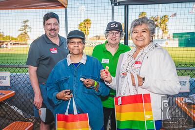 Rainbow Chamber at San Jose Giants 2021