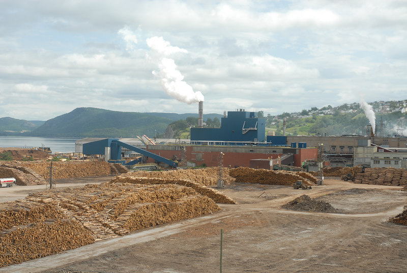Corner Brook Paper Mill, Newfoundland, July 2006