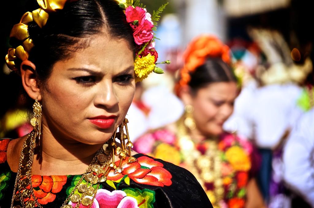 La Sandunga Dancers - Oaxaca, Mexico