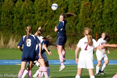 Girls Soccer vs. NMH 10/22/11