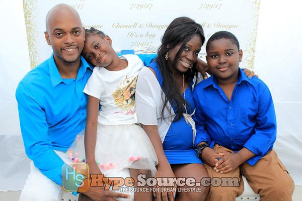 Chennell & Dwayne Baby Shower